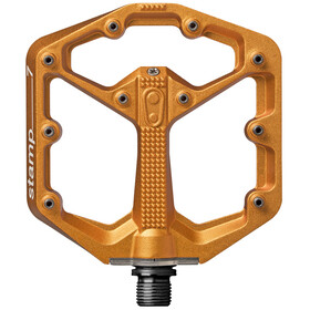Crankbrothers Stamp 7 Large - Pédales - orange